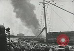 Image of Fighting fires at seaports United States USA, 1944, second 10 stock footage video 65675058108