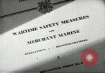 Image of Merchant Marine seamen United States USA, 1944, second 1 stock footage video 65675058112