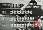 Image of Coast Guard screens prospective Merchant Marine seamen United States USA, 1944, second 3 stock footage video 65675058114