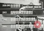 Image of Coast Guard screens prospective Merchant Marine seamen United States USA, 1944, second 4 stock footage video 65675058114