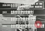 Image of Coast Guard screens prospective Merchant Marine seamen United States USA, 1944, second 6 stock footage video 65675058114