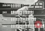 Image of Coast Guard screens prospective Merchant Marine seamen United States USA, 1944, second 7 stock footage video 65675058114