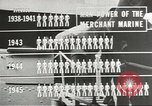 Image of Coast Guard screens prospective Merchant Marine seamen United States USA, 1944, second 8 stock footage video 65675058114