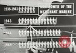 Image of Coast Guard screens prospective Merchant Marine seamen United States USA, 1944, second 9 stock footage video 65675058114