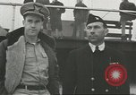 Image of Coast Guard rescues seamen from beached freighter United States USA, 1944, second 10 stock footage video 65675058118