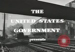 Image of railroad transportation system United States USA, 1943, second 3 stock footage video 65675058131