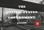Image of railroad transportation system United States USA, 1943, second 4 stock footage video 65675058131