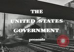 Image of railroad transportation system United States USA, 1943, second 5 stock footage video 65675058131