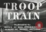 Image of railroad transportation system United States USA, 1943, second 7 stock footage video 65675058131