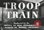 Image of railroad transportation system United States USA, 1943, second 8 stock footage video 65675058131