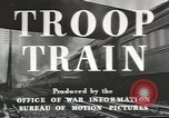 Image of railroad transportation system United States USA, 1943, second 9 stock footage video 65675058131