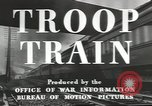 Image of railroad transportation system United States USA, 1943, second 11 stock footage video 65675058131