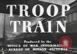 Image of railroad transportation system United States USA, 1943, second 12 stock footage video 65675058131