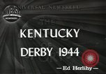 Image of Kentucky Derby Louisville Kentucky USA, 1944, second 5 stock footage video 65675058151
