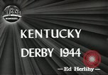 Image of Kentucky Derby Louisville Kentucky USA, 1944, second 6 stock footage video 65675058151