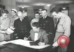 Image of Coast Guard officer United States USA, 1944, second 9 stock footage video 65675058153