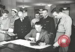 Image of Coast Guard officer United States USA, 1944, second 10 stock footage video 65675058153