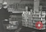Image of King Kullen Grocery store New York United States USA, 1943, second 5 stock footage video 65675058164