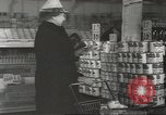 Image of King Kullen Grocery store New York United States USA, 1943, second 8 stock footage video 65675058164