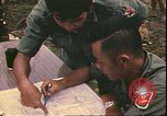 Image of Vietnamese officer Vietnam, 1970, second 11 stock footage video 65675058214