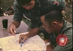 Image of Vietnamese officer Vietnam, 1970, second 12 stock footage video 65675058214