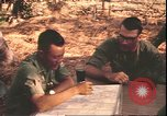 Image of American officer Vietnam, 1970, second 10 stock footage video 65675058219