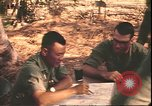 Image of American officer Vietnam, 1970, second 12 stock footage video 65675058219