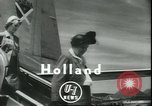 Image of Eleanor Roosevelt Holland Netherlands, 1950, second 3 stock footage video 65675058226