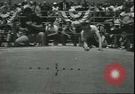 Image of marble game Asbury Park New Jersey USA, 1950, second 5 stock footage video 65675058227