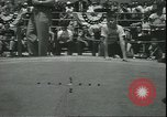 Image of marble game Asbury Park New Jersey USA, 1950, second 8 stock footage video 65675058227