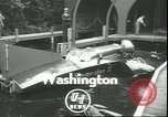 Image of hydroplane Seattle Washington USA, 1950, second 2 stock footage video 65675058228