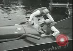 Image of hydroplane Seattle Washington USA, 1950, second 8 stock footage video 65675058228
