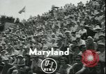 Image of athletes College Park Maryland USA, 1950, second 2 stock footage video 65675058229