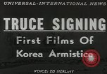 Image of William K Harrison Panmunjom Korea, 1953, second 12 stock footage video 65675058249