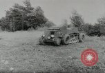 Image of armored car Germany, 1953, second 5 stock footage video 65675058252