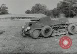 Image of armored car Germany, 1953, second 7 stock footage video 65675058252