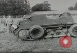 Image of armored car Germany, 1953, second 8 stock footage video 65675058252