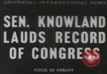 Image of William F Knowland Washington DC USA, 1953, second 1 stock footage video 65675058253