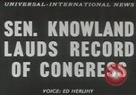 Image of William F Knowland Washington DC USA, 1953, second 4 stock footage video 65675058253