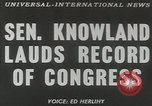 Image of William F Knowland Washington DC USA, 1953, second 6 stock footage video 65675058253