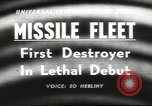 Image of guided missile fleet Pacific Ocean, 1958, second 3 stock footage video 65675058258