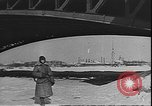 Image of Russian supply convoy over Lake Ladoga during siege of Leningrad Leningrad Russia Soviet Union, 1943, second 9 stock footage video 65675058277