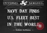 Image of Navy Day United States USA, 1940, second 5 stock footage video 65675058280