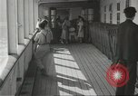 Image of Japanese aboard ship Gripsholm New York United States USA, 1943, second 6 stock footage video 65675058281