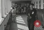 Image of Japanese aboard ship Gripsholm New York United States USA, 1943, second 8 stock footage video 65675058281