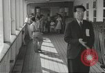 Image of Japanese aboard ship Gripsholm New York United States USA, 1943, second 9 stock footage video 65675058281