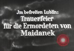 Image of monument Lublin Poland, 1944, second 4 stock footage video 65675058296