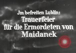 Image of monument Lublin Poland, 1944, second 6 stock footage video 65675058296