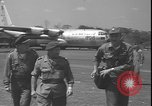 Image of U.S. Air Force C-130 aircraft Kamina Republic of Congo, 1964, second 10 stock footage video 65675058318