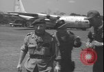 Image of U.S. Air Force C-130 aircraft Kamina Republic of Congo, 1964, second 12 stock footage video 65675058318